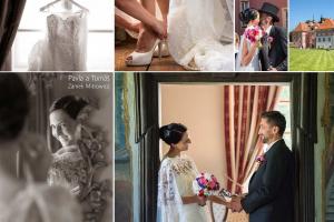 01 Zamek Mitrowicz svatebni kolaz svatebni fotograf ales motejl jihocesky kraj