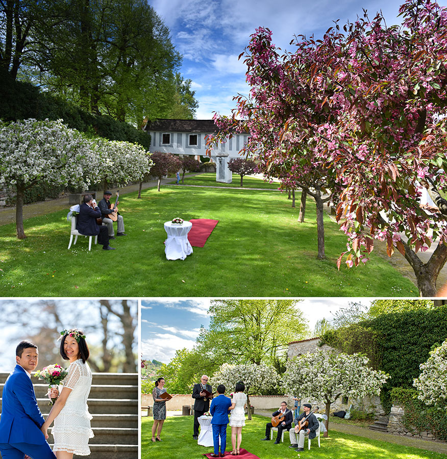 Kde mít svatbu - Štěpnice - I. terasa zámecké zahrady