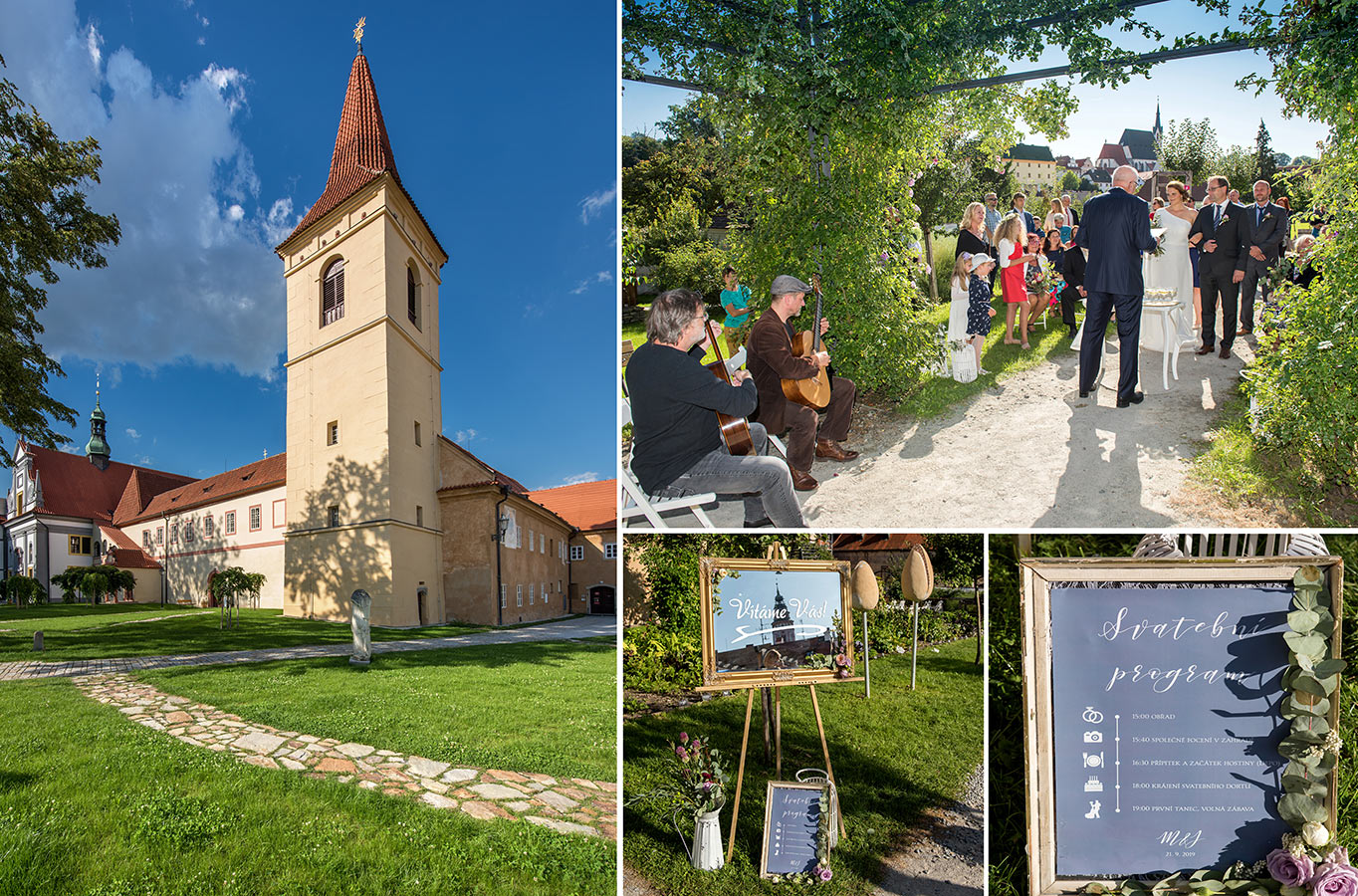 Kde mít svatbu - Klášter - Český Krumlov