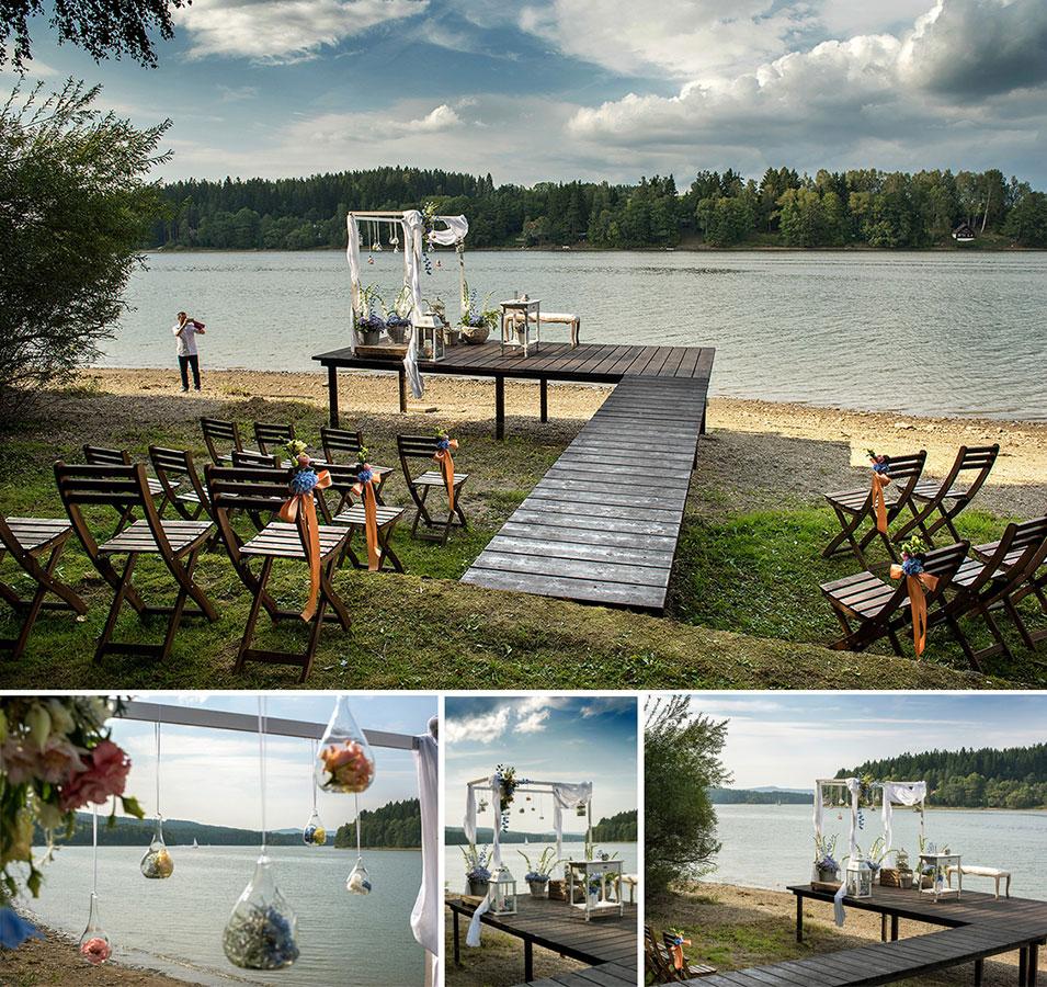 Svatební místa - Lipno nad Vltavou