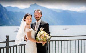 09 svatebni foto Brautigam und Braut am Traunsee gmunden