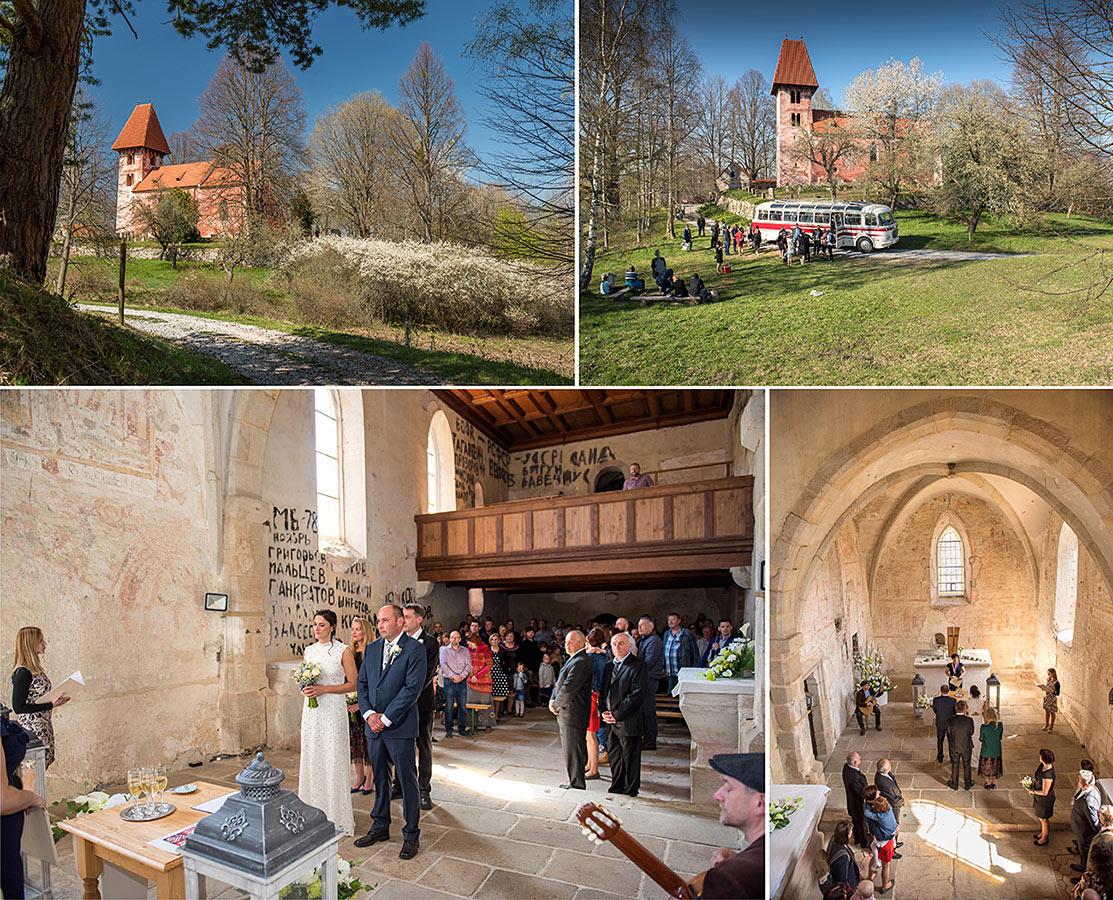 Svatební místa - Boletice kostel