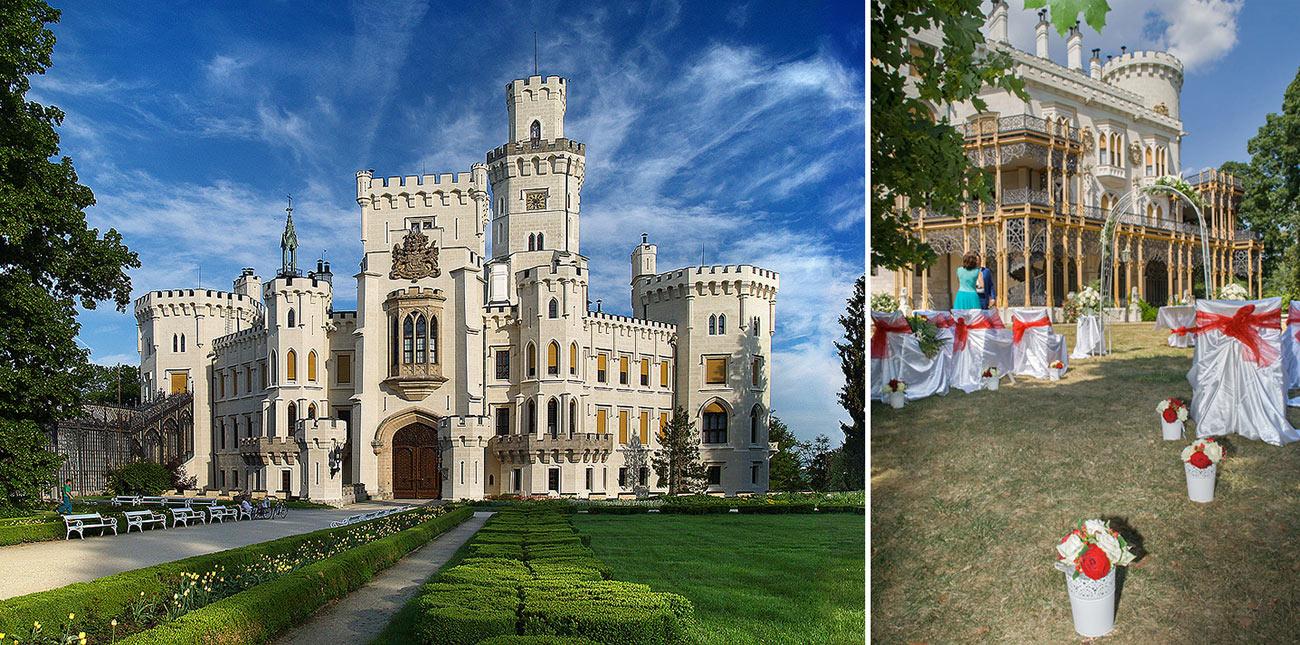 Svatební místa Hluboká nad Vltavou