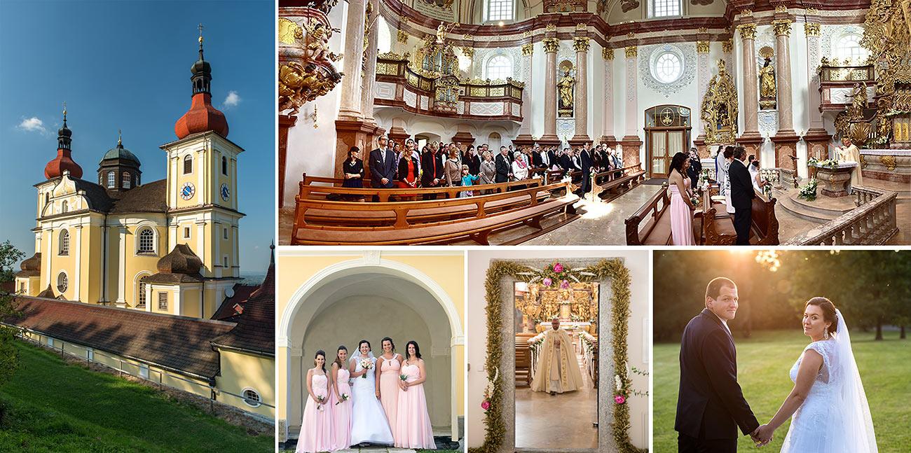 Kde mít svatbu - Kostel Dobrá Voda
