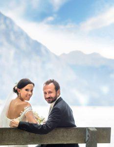 14 svatebni fotografie jezero Traunsee ales motejl