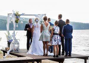 17 svatebni obrad na brehu lipna nad vltavou okres cesky krumlov jihocesky kraj
