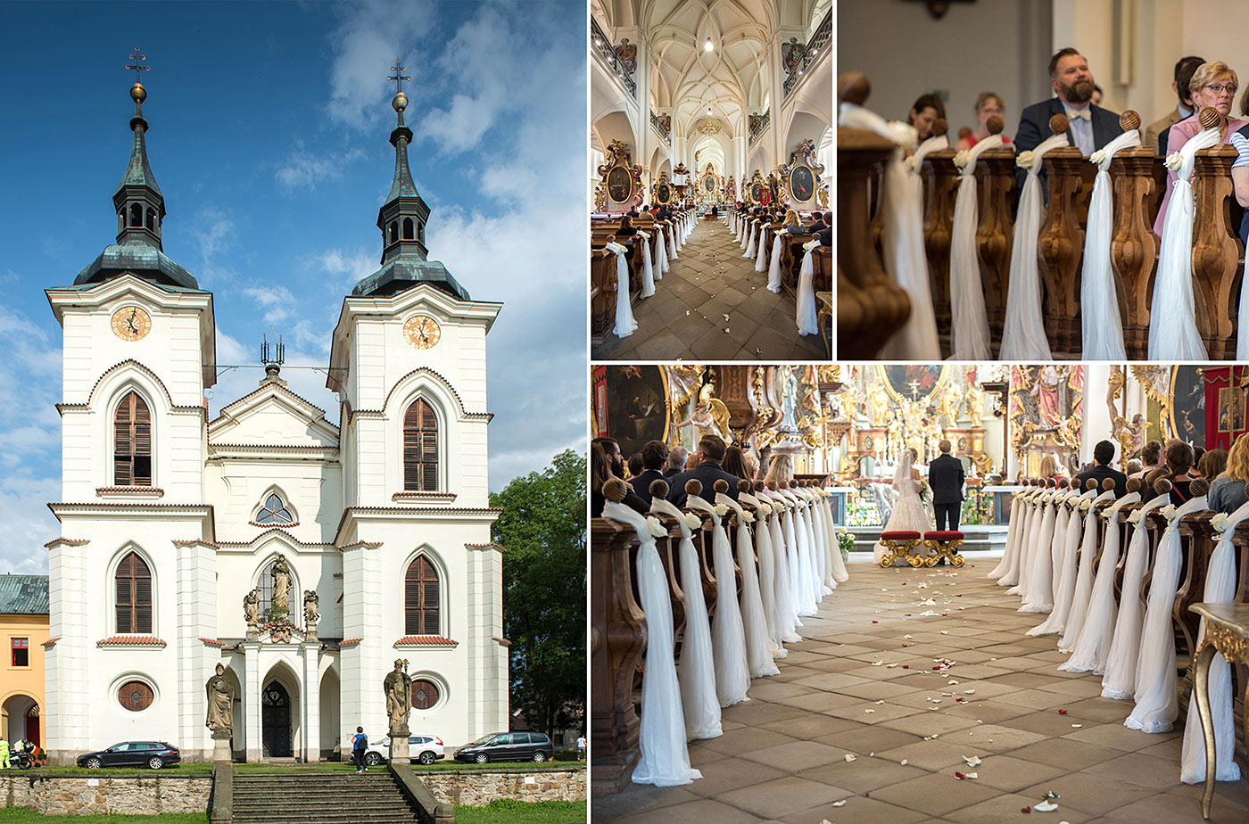 Svatební místo - Klášter Želiv