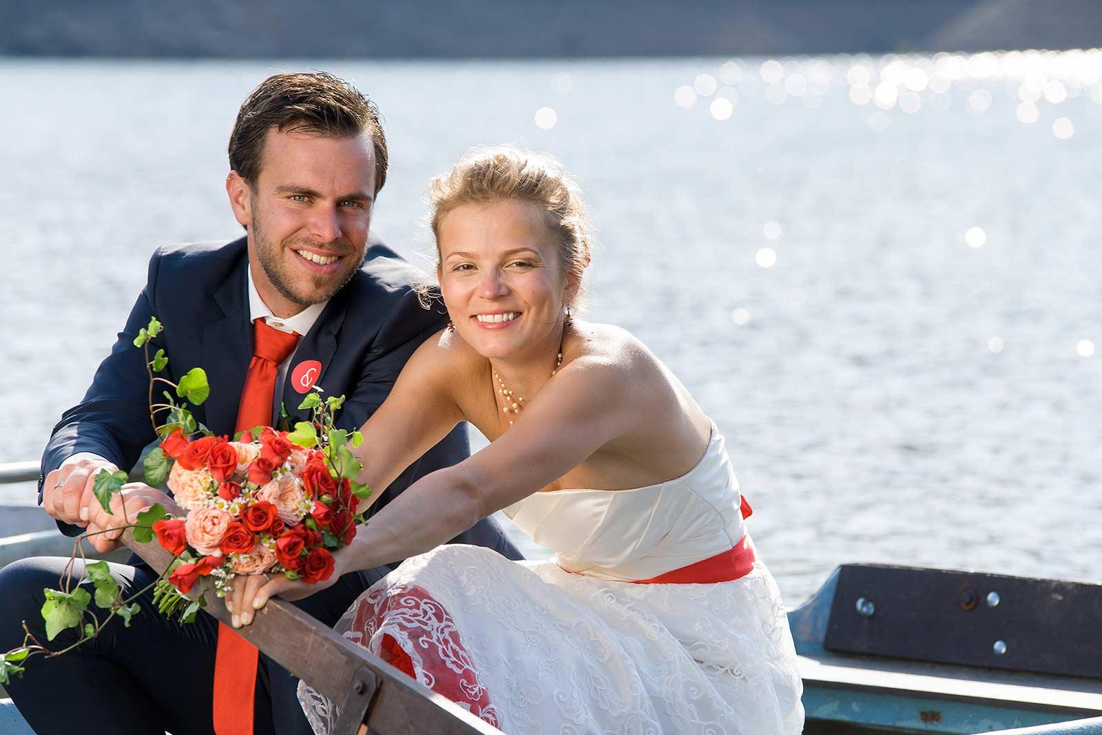 35 novomanzele na lodi svatebni fotograf ales motejl jizni cechy